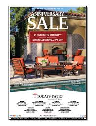 Todays Patio Anniversary Sale Newspaper Ad
