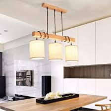 stoffschirm holz pendelleuchte moderne minimalistisch kunst hängele wohnzimmer e27 stoff le einstellbar esszimmer esstisch kronleuchter