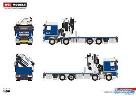 100 Truck Mounted Crane WSI Baetsen DAF XF Space Cab Riged Flatbed