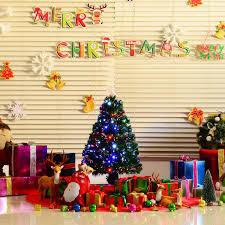 Slim Pre Lit Christmas Trees 7ft by 16 3ft Pre Lit Christmas Tree 3ft 90cm Green Fibre Optic