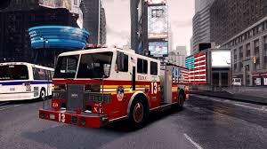 100 Gta 4 Fire Truck Mod FDNY Wallpapers Wallpaper Cave