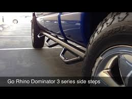 Dodge Ram Go Rhino Dominator 3 Side Step Review - YouTube Ionic Automotive Running Boards And Nerf Bars Product Preview Buy Chevygmc 12500 Stealth Side Steps Steelcraft 5 Oval Bed Liner On Side Steps Results Youtube Romik Max 2016 Ford Ranger T6 Highlander Black Ebay Magnum Rt Brack Truck Rails Back Rack Off Road Bumpers Shop Aftermarket Custom Steelcraft Big Country Accsories
