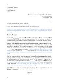 lettre de demande par le salarié d activité à temps partiel pour