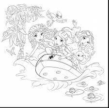 Astounding Lego Friends Coloring Pages With And To Print