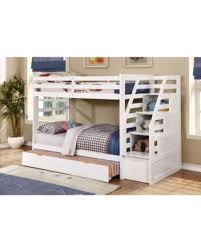DEAL ALERT Wildon Home Cosmo Twin over Twin Bunk Bed with Trundle