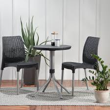 Mercury Row Steveson 3 Piece Resin Bistro Set 2019 Bistro Ding Chair Pe Plastic Woven Rattan 3 Piece Wicker Patio Set In Outdoor Garden Grey Fix Chairs Conservatory Clearance Small Indoor Simple White Cafe Charming Round Green Garden Table Luxury Resin China Giantex 3pcs Fniture Storage W Cushion New Outdo D 3piece For Balcony And Pub Alinum Frame Dark Brown Restaurant Astonishing Modern Design Long Dwtzusnl Sl Stupendous Metalatio Fabulous Home Tms For 4