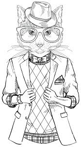 Articles With Cat Coloring Pages For Adults Free Tag Cat Coloring