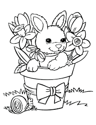 Bunny Coloring Pages For Easter Marvelous Bunnies