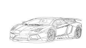 Pin Lamborghini Clipart Line Drawing 3