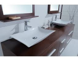 sink calliope 72 inch modern double vessel sink vanity awesome