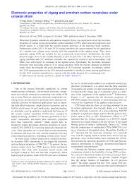 Electronic Properties Of Zigzag And Armchair Carbon Nanotubes ... Iab Initioi Study Of The Electronic And Vibrational Properties Slide Show Graphitic Pyridinic Nitrogen In Carbon Nanotubes Energetic Technologies Free Fulltext Refined 2d Exact 3d Shell Int Publications Mechanical Electrical Single Walled Carbon Patent Wo2008048227a2 Synthetic Google Patents Mechanics Atoms Fullerenes Singwalled Insights Into Nanotube Graphene Formation Mechanisms Asymmetric Excitation Profiles Resonance Raman Response
