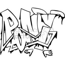 Clip Art Graffiti And More Related Vector Clipart Images
