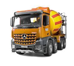 100 Bruder Cement Truck MercedesBenz Actros MercedesBenz Arocs Cement 2953