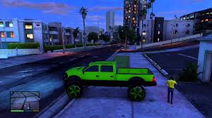 My Big Green Truck (GTA 5) - YouTube
