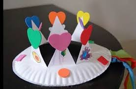 Arts And Crafts Paper Plates Origami Instructions Art