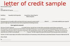 Bank Letter Credit Template incheonfair