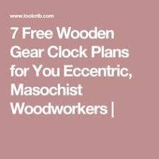 free wooden clock plans wooden clocks pinterest wooden clock