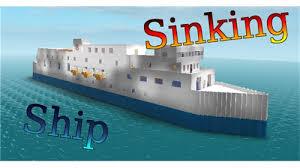 community kni0006 sinking ship roblox wikia fandom powered by