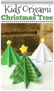Easy Origami Christmas Tree DIY