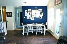 Dining Room Accent Wall Color Ideas Rock In Living Black Cushion