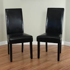 Dining Room Chair Leather Parsons Dining Chairs Comfy ...