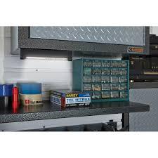 Sensky LED Light Strip Under Cabinet Shelf Lighting Kit Extendable Under Counter LED Light With Motion Sensor Power Adapter For Gun Safe LightShelf