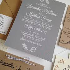 Not On High Street Wedding Invitations