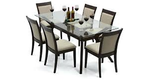 6 Seater Dining Table Sale Philippines Glass Top Urban Ladder Seat Set Latte 99