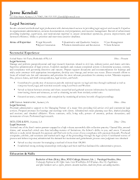 Unit Secretary Resume Legal Examples Sample Assistant Secretarial Duties