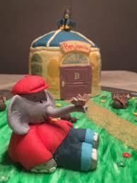 benjamin blümchen kuchen cake fondant torte elefant