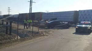 100 Train Vs Truck One Dead In Truck Vs Train Collision