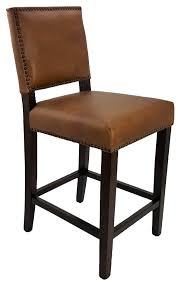 Bar Stools & Kitchen Counter Stools :: Top Grain Antique Brown ... Fniture Brown Varnished Mahogany Bar Stool Which Furnished With Bar Black Top Grain Leather Upholstered Magnificent Stools Images Ipirations Calvin Art Deco Barstool Kathy Kuo Home View Archives Darafeev Moes Collection Pk6103 Freeman Counter In Light Klein Wback Plantation Unique Rustic Photos Ideas Jeanne Retro Utility High Chair Sh760 Stellar Works Designed By Nerihu
