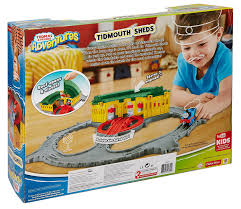 Thomas And Friends Tidmouth Sheds Trackmaster by Amazon Com Fisher Price Thomas The Train Thomas Adventures