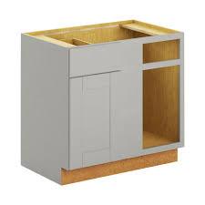 Blind Corner Base Cabinet For Sink by Hampton Bay Princeton Shaker Assembled 36x34 5x24 In Blind Corner