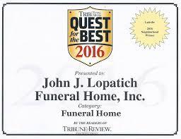 John J Lopatich Funeral Home Inc Avaleht