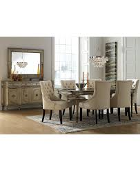 Prosecco Dining Set With Marais Chairs - Dining Room ... Quality Macys Fniture Ding Room Sets Astounding Macy Set Macys For Exotic Swanson Peterson 32510 Home Design Faux Top Cra Pedestal White Marble Corners New York Solid Wood Table 3 Chairs 20 Circle Inspiring Elegant Los Feliz And Chair Red 100 And Tables Altair 5pc 4 Download 8 Beautiful Inside