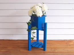 Outdoor Patio Plant Stands by Deck And Patio Flower Plant Stand 3 Tier Wooden Plant Stand 3 Pot