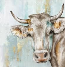 deko bilder drucke mit kühe motiv fürs wohnzimmer günstig
