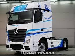100 6 Wheel Mercedes Truck Actros 1848 LS Tractorhead Euro Norm 33200 BAS S