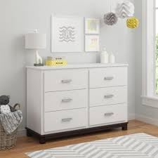 South Shore Step One Collection Dresser by South Shore Step One 6 Drawer Pure White Dresser 3160010 The