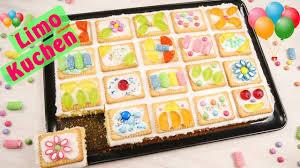 limo kuchen i butterkekskuchen i kindergeburtstag i geburtstagskuchen