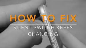 iPhone silent switch not working or keeps changing fix