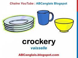 la cuisine en anglais accessoires de la cuisine anglais vocabulary la