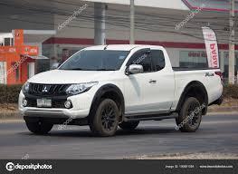 100 Mitsubishi Pickup Truck Private Car Triton Stock Editorial Photo