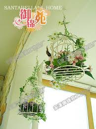 Wrought Iron Flower Pots Wall Hanging Rustic Wedding Decoration Stand