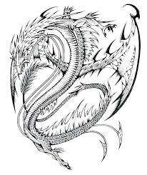 Chinese Dragon Printable Coloring Pages Faces Realistic Dance Page Full Size