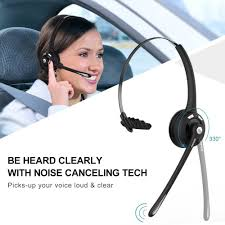 Bluetooth On-Ear Headset 2 Pack Wireless Microphone Call Center ... 14hr Working Time Bluetooth Headphones Truck Driver Yamay Wireless Headset Over The Head Handfree Office Call Center Noise Cancelling Mic Bh M10b Boom Mono Multi Point Music Headphone Hands Free With Noise Concelling For Phones Tabletin Earphones Victal Mpow Match Your Smart Life Extremerebatebluetooth V42 Canceling Headsets Drivers Amazonca Earpiece Calling