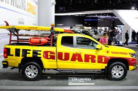 Lifeguard Edition Of The 2015 Chevrolet Colorado - 2013 L.A. Auto ...