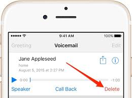 How to permanently delete voicemails on iPhone