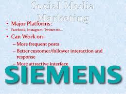 digital marketing strategy presentation siemens